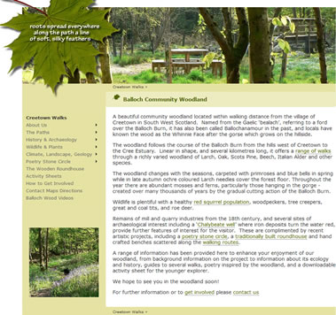 Balloch Wood - Creetown Walks, Dumfries & Galloway, south west Scotland