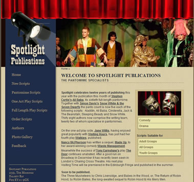 Spotlight Publications Website